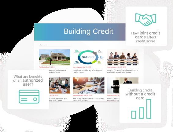 Building credit blog images