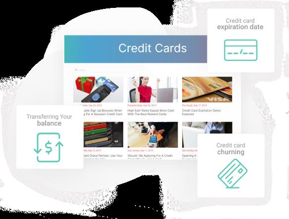 Credit card blog images
