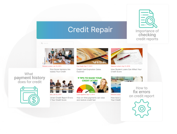 Repair credit blog images