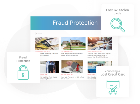 Fraud protection blog images