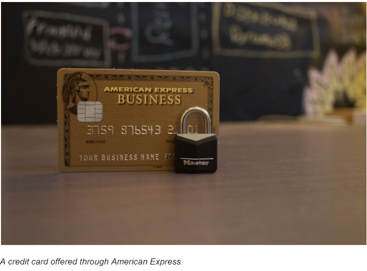 A Credit Card Offered Through American Express