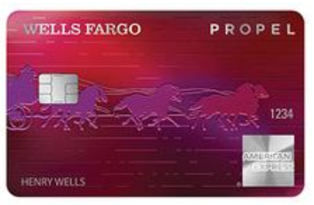 Wells Fargo Propel American Express Card, rated best rewards credit card of 2019