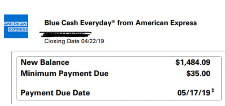 Blue Cash American Express