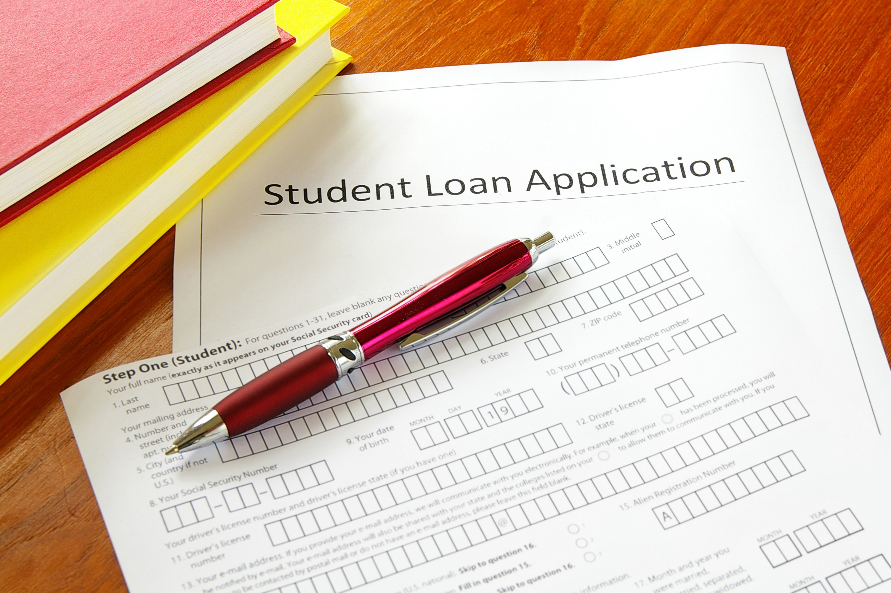 Student Loan Application.